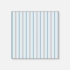 "Cornflower Stripe Duvet Que Square Sticker 3"" x 3"""