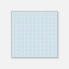 "Amara Cornflower Duvet Quee Square Sticker 3"" x 3"""