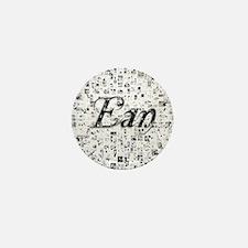 Ean, Matrix, Abstract Art Mini Button