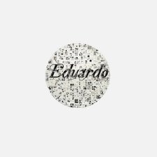 Eduardo, Matrix, Abstract Art Mini Button