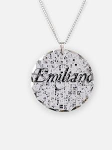 Emiliano, Matrix, Abstract A Necklace