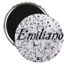 Emiliano, Matrix, Abstract Art Magnet