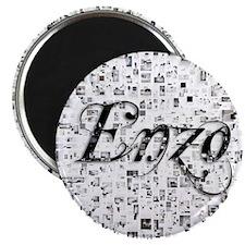 Enzo, Matrix, Abstract Art Magnet