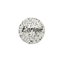 Enrique, Matrix, Abstract Art Mini Button