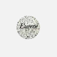 Eugene, Matrix, Abstract Art Mini Button