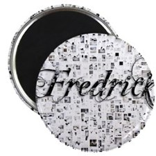 Fredrick, Matrix, Abstract Art Magnet