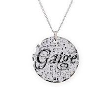 Gaige, Matrix, Abstract Art Necklace