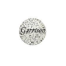 Garrison, Matrix, Abstract Art Mini Button