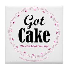 Got Cake Tile Coaster