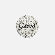 Gaven, Matrix, Abstract Art Mini Button