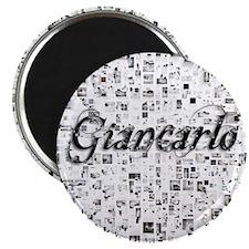Giancarlo, Matrix, Abstract Art Magnet