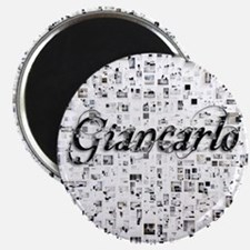 Giancarlo, Matrix, Abstract Art Magnet