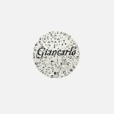 Giancarlo, Matrix, Abstract Art Mini Button