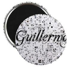 Guillermo, Matrix, Abstract Art Magnet