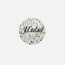 Hadad, Matrix, Abstract Art Mini Button