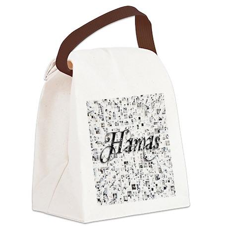 Hamas, Matrix, Abstract Art Canvas Lunch Bag