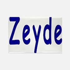 Yiddish Zeyde Rectangle Magnet
