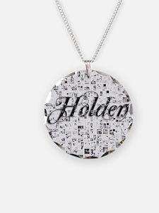 Holden, Matrix, Abstract Art Necklace