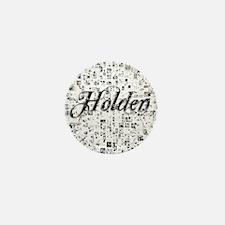 Holden, Matrix, Abstract Art Mini Button