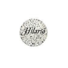 Hilario, Matrix, Abstract Art Mini Button