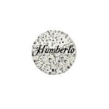 Humberto, Matrix, Abstract Art Mini Button