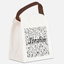 Ibrahim, Matrix, Abstract Art Canvas Lunch Bag