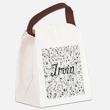 Irvin, Matrix, Abstract Art Canvas Lunch Bag