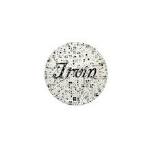 Irvin, Matrix, Abstract Art Mini Button