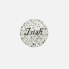 Isiah, Matrix, Abstract Art Mini Button