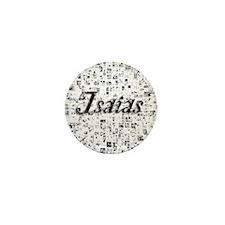 Isaias, Matrix, Abstract Art Mini Button