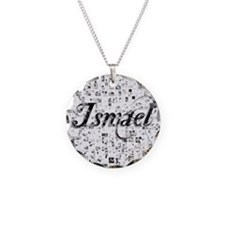 Ismael, Matrix, Abstract Art Necklace