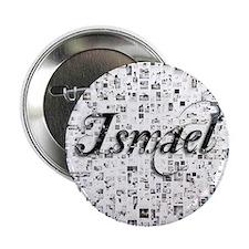 """Ismael, Matrix, Abstract Art 2.25"""" Button"""