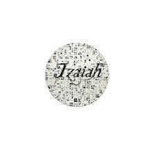 Izaiah, Matrix, Abstract Art Mini Button