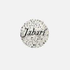 Jabari, Matrix, Abstract Art Mini Button