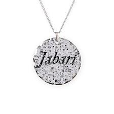 Jabari, Matrix, Abstract Art Necklace