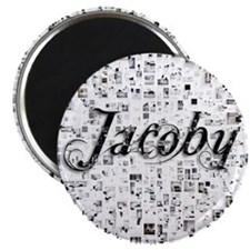 Jacoby, Matrix, Abstract Art Magnet
