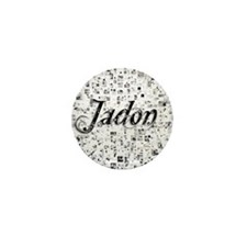 Jadon, Matrix, Abstract Art Mini Button
