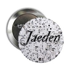 "Jaeden, Matrix, Abstract Art 2.25"" Button"