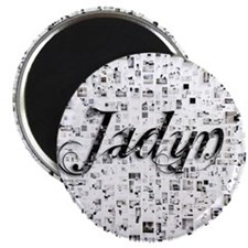 Jadyn, Matrix, Abstract Art Magnet