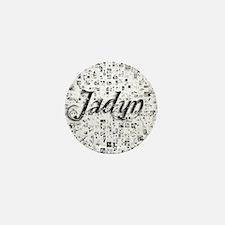 Jadyn, Matrix, Abstract Art Mini Button