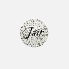 Jair, Matrix, Abstract Art Mini Button