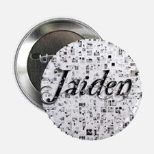 "Jaiden, Matrix, Abstract Art 2.25"" Button"
