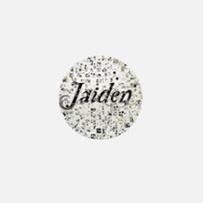 Jaiden, Matrix, Abstract Art Mini Button
