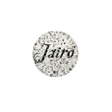 Jairo, Matrix, Abstract Art Mini Button