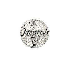 Jamarcus, Matrix, Abstract Art Mini Button