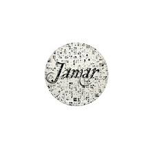 Jamar, Matrix, Abstract Art Mini Button