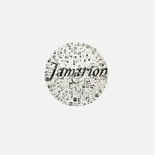 Jamarion, Matrix, Abstract Art Mini Button