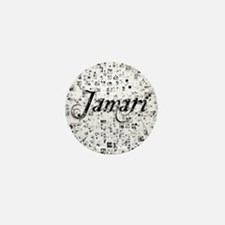 Jamari, Matrix, Abstract Art Mini Button