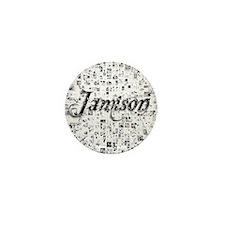 Jamison, Matrix, Abstract Art Mini Button