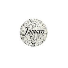 Jaquan, Matrix, Abstract Art Mini Button